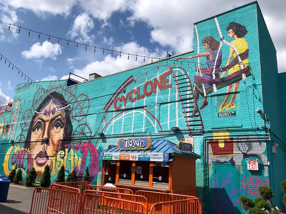 Street Art Coney Island Brooklyn