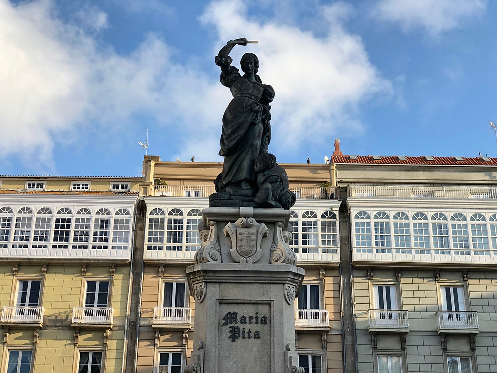 Estatua Maria Pita