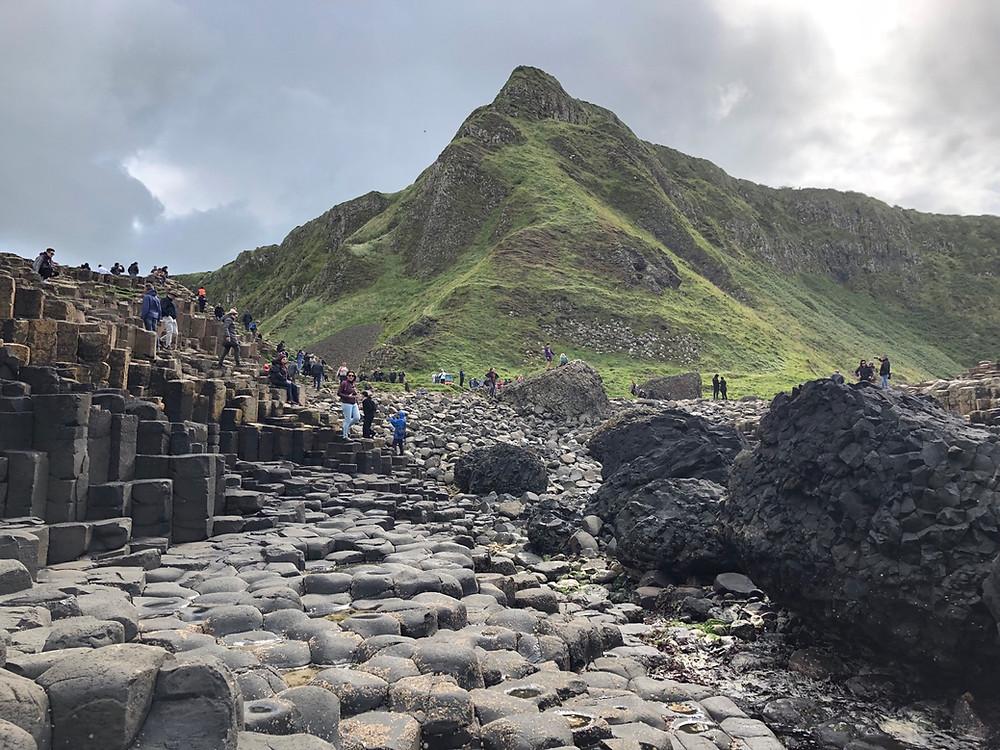 Columnas basalticas Irlanda del Norte