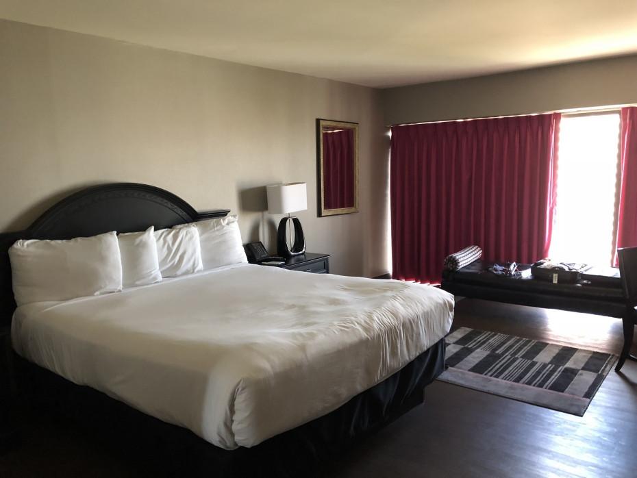Habitacion del hotel Flamingo en Las Vegas