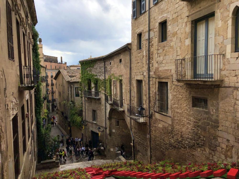 Casco histórico ciudad de Girona