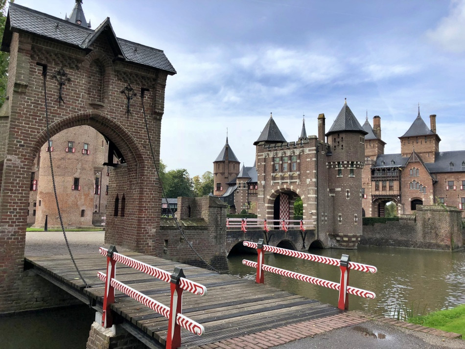 Puerta de entrada Castillo de Haar Utrecht