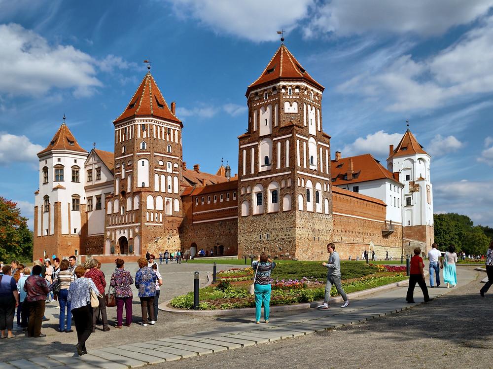 Palacio de Mir en Bielorrusia