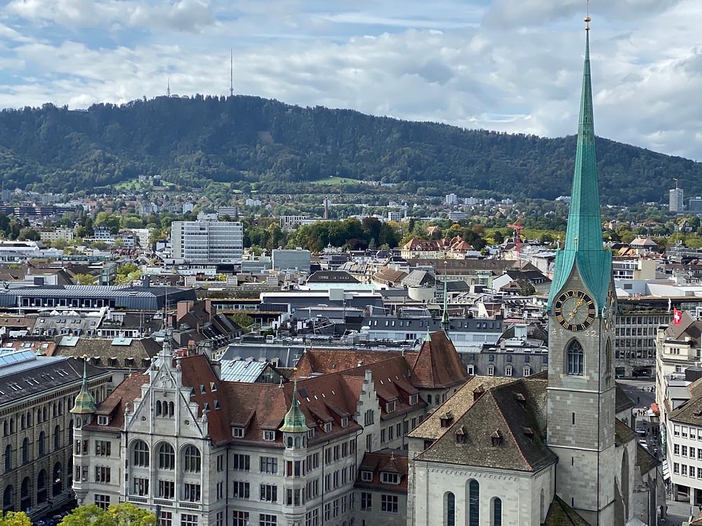 Best viewpoint Zurich