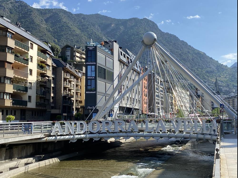 Puente de Paris Andorra la Vella