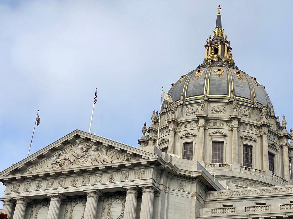 Fachada del Ayuntamiento de San Francisco