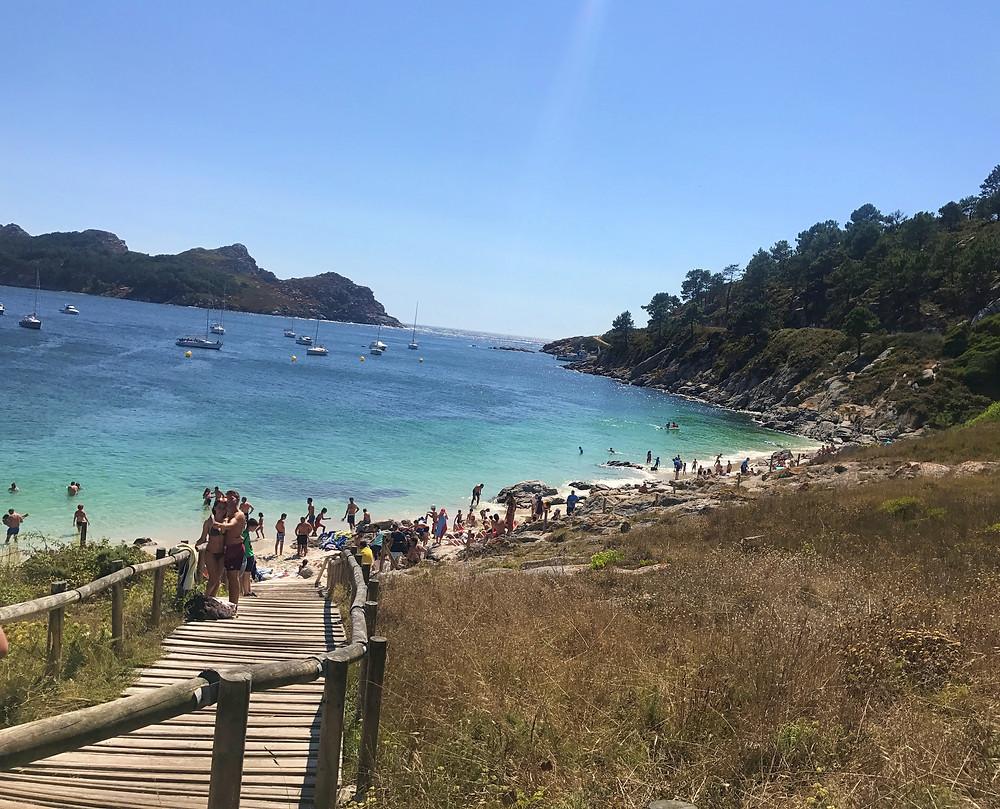 Praia de Nostra Señora Islas Cies