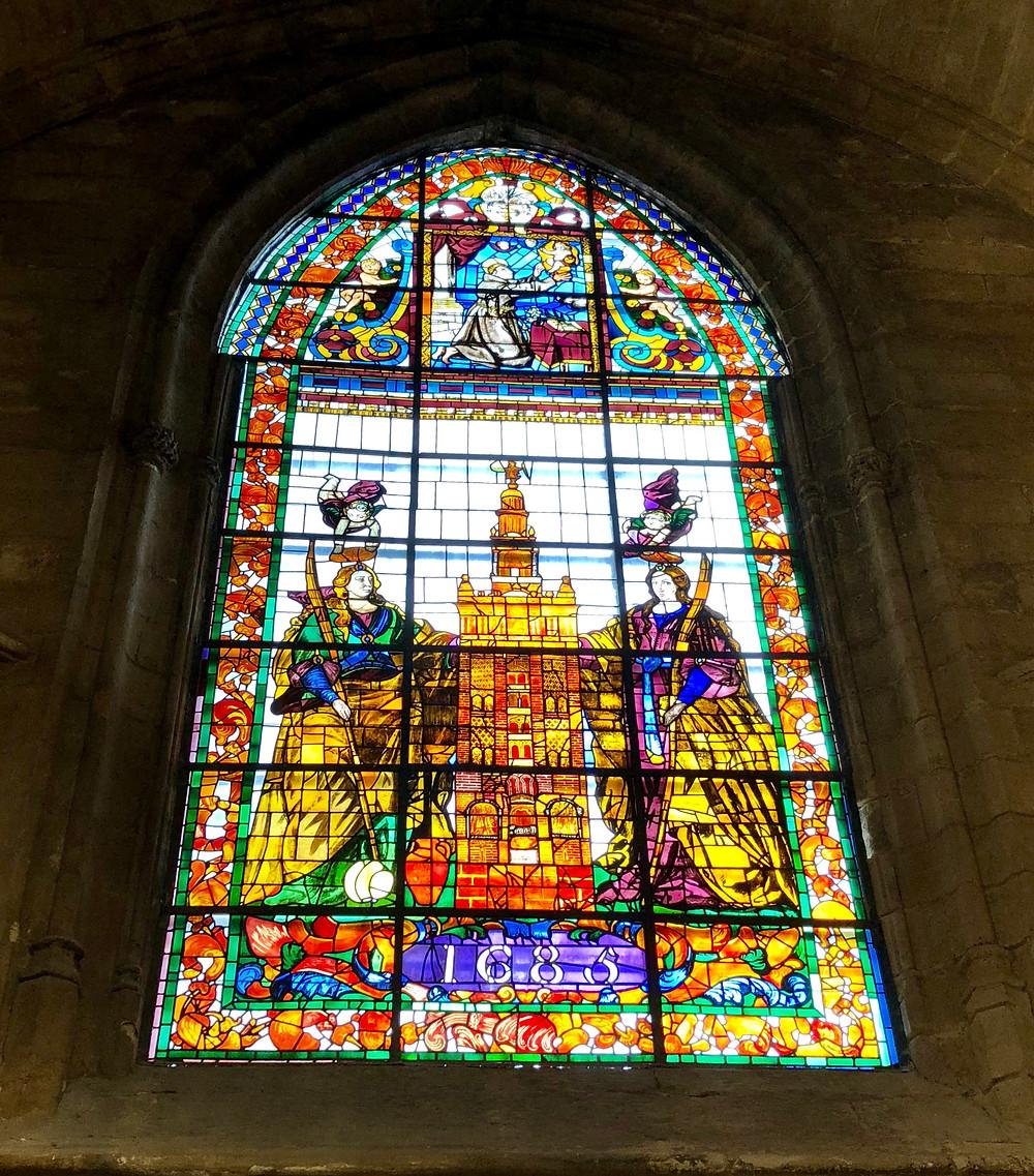 Cristalera de la Catedral de Sevilla