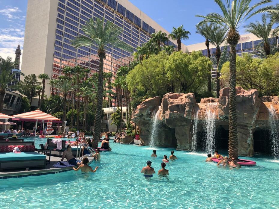 Piscina hotel Flamingo Las Vegas