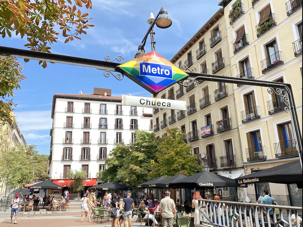 Barrio de Chueca en Madrid