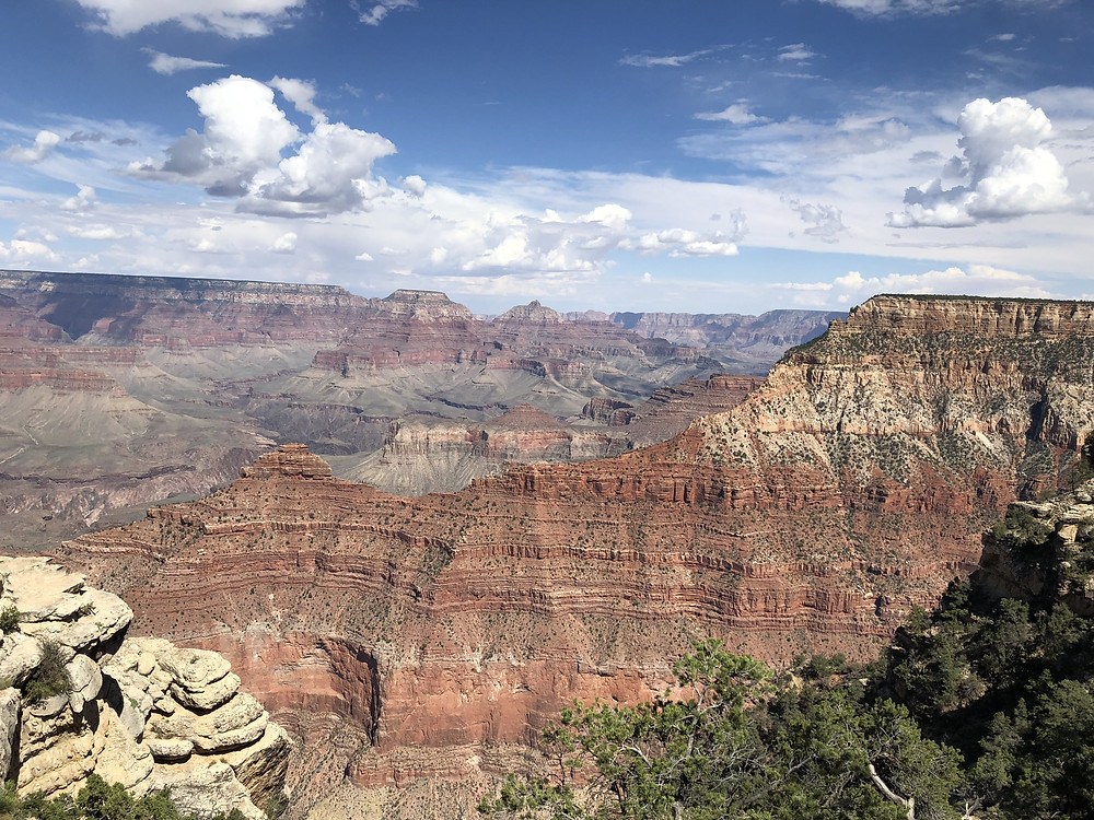 Formaciones rocosas en el Gran Cañón del Colorado