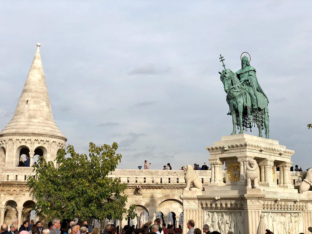 Estatua de San Esteban I