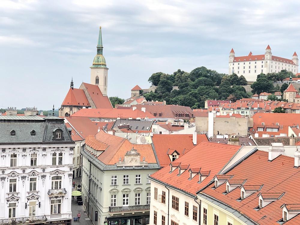 Bratislava capital de Eslovaquia