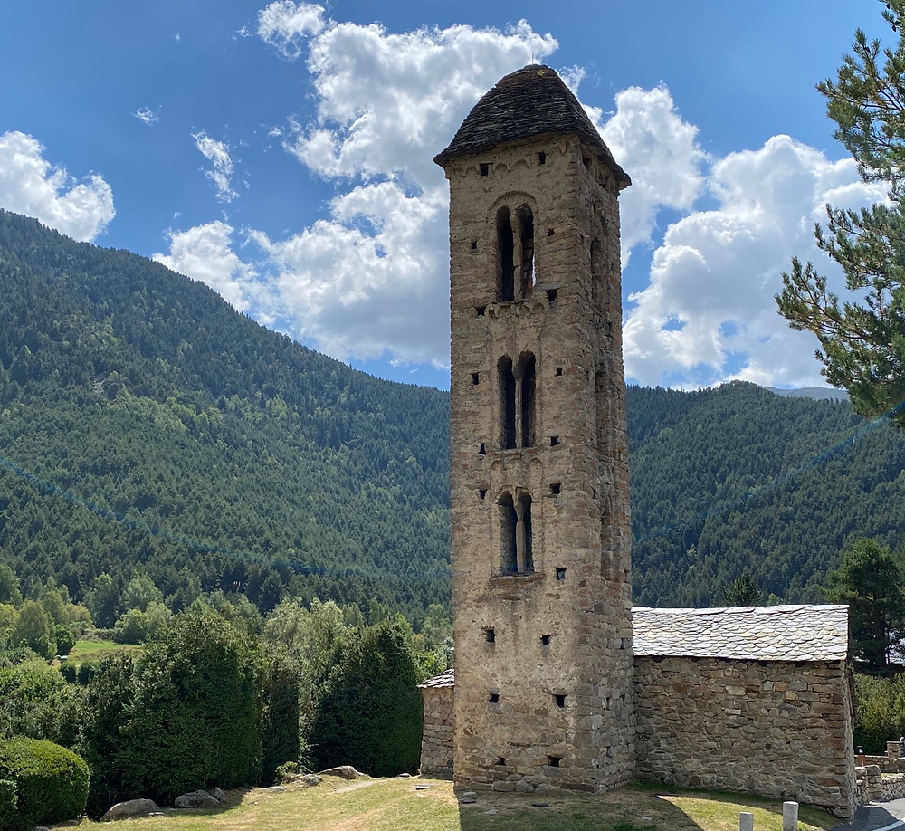 Iglesia Sant Miquel Engolasters Andorra
