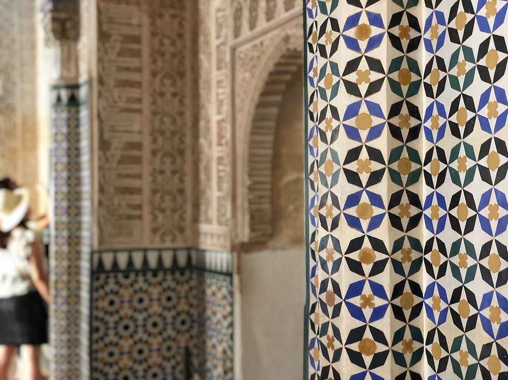 Arte árabe Alhambra Granada