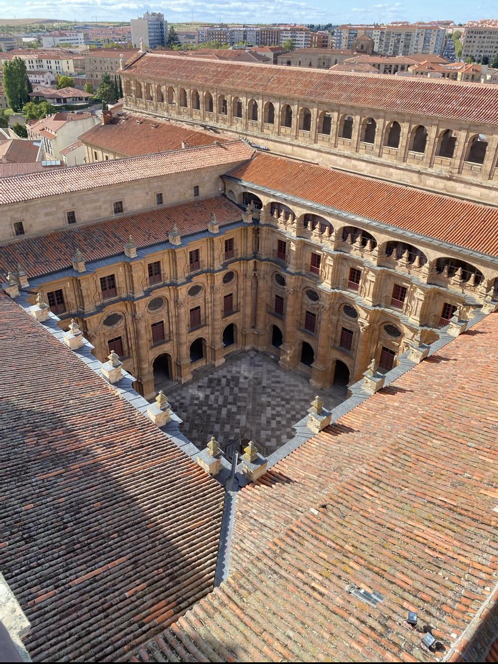 Patio central Universidad de Salamanca
