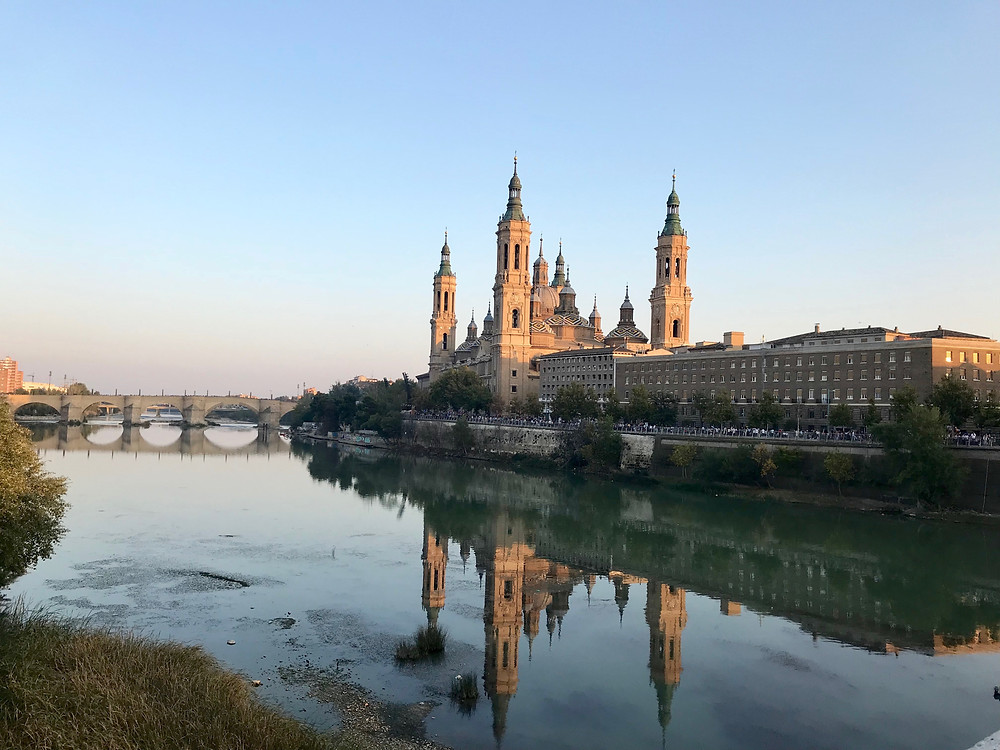Zaragoza durante Fiestas Pilar