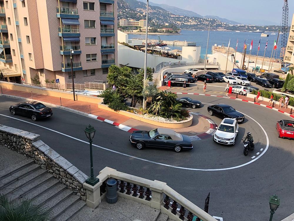 Curva Sun Casino GP Monaco