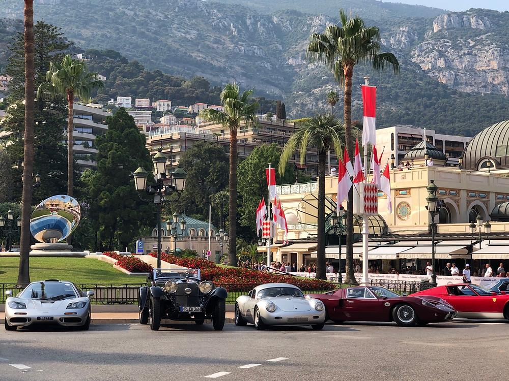 Coches lujosos Casino Monaco