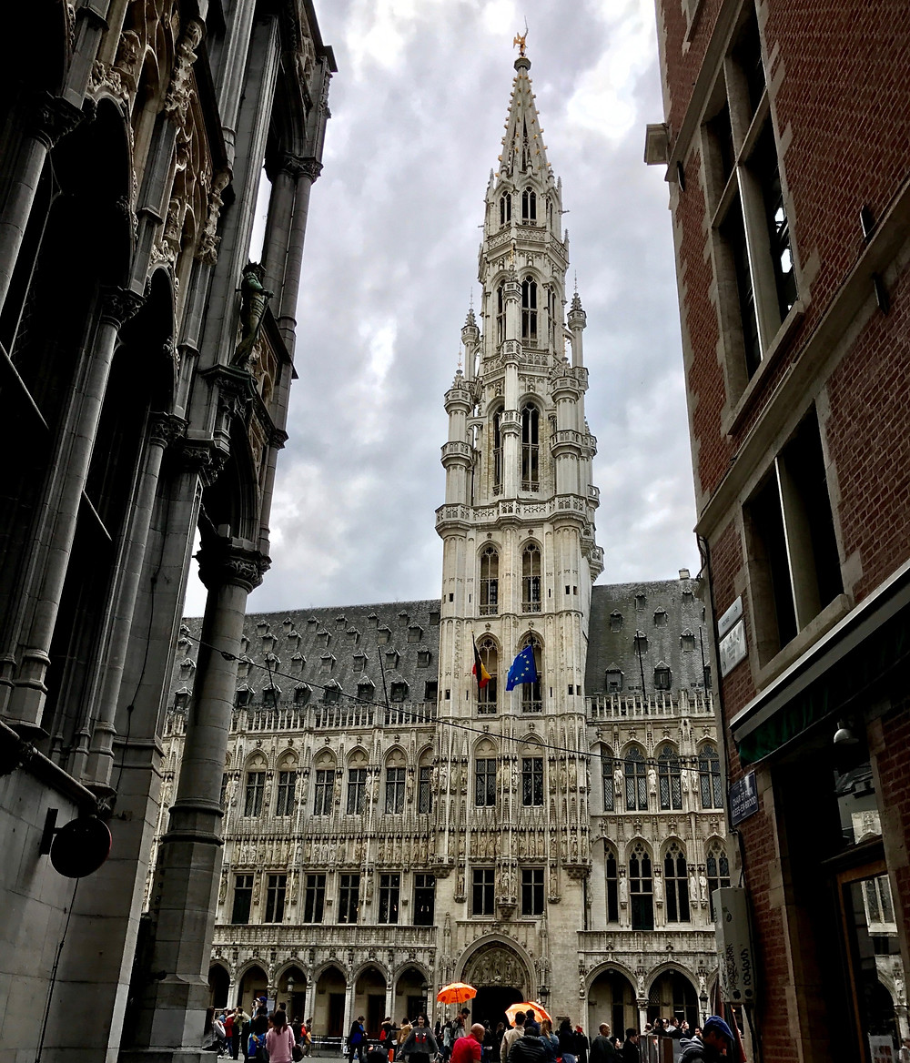 Fachada Hotel Ville Bruselas
