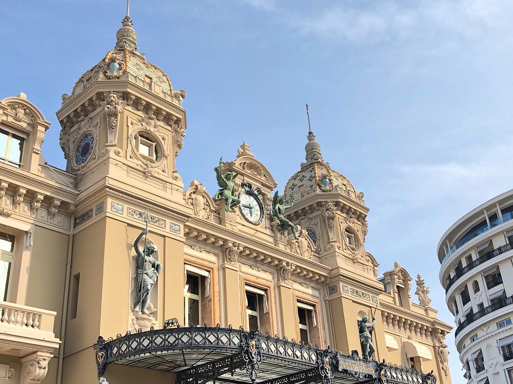 Fachada casino Monaco