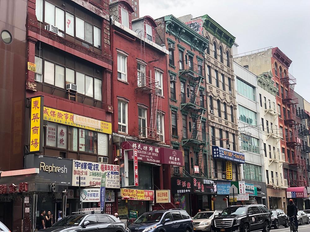 Casas tradicionales Chinatown