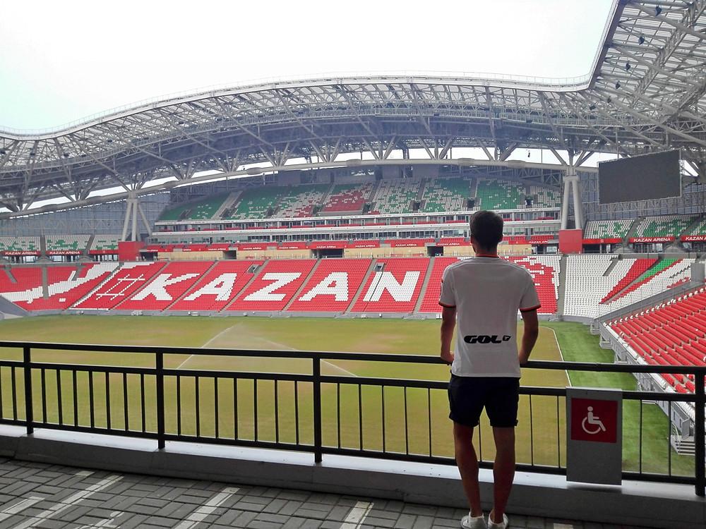 Estadio de fútbol de Kazan