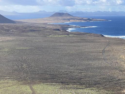 La Graciosa, una pequeña isla paradisíaca en el archipiélago canario