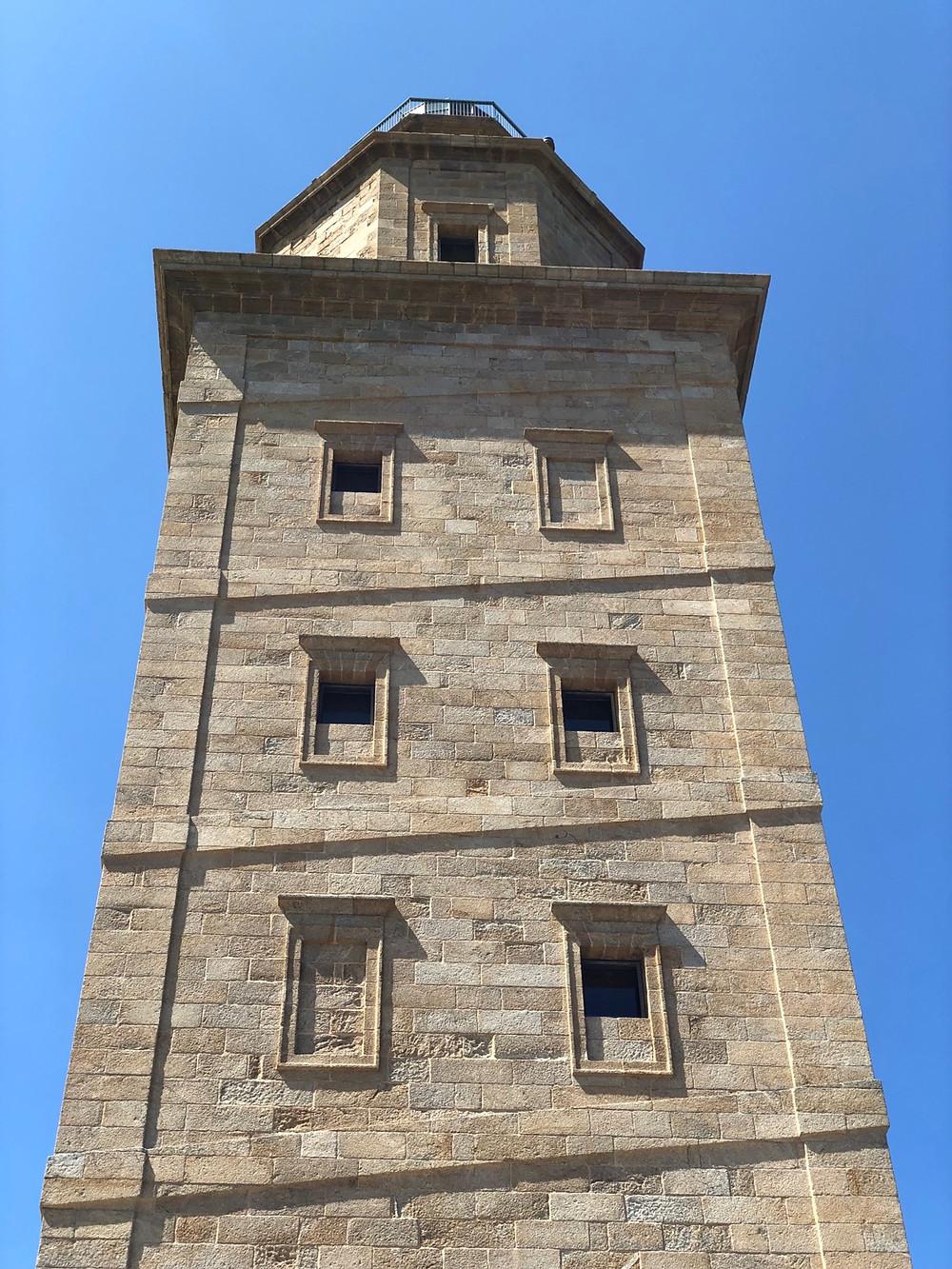 Fachada Torre de Hércules