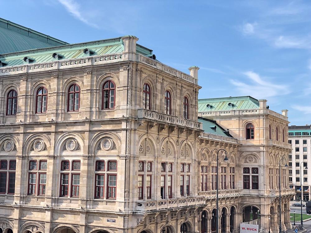 Edificio Ópera Viena