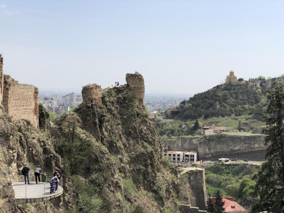 Montaña en Tbilisi Georgia