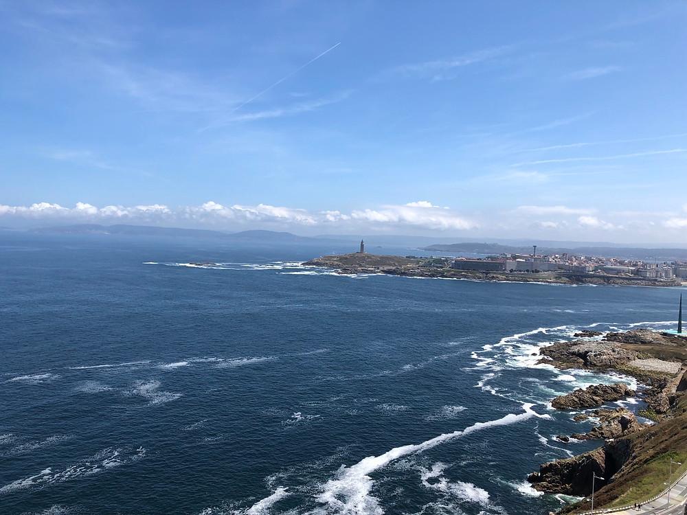 Vistas panorámicas Coruña