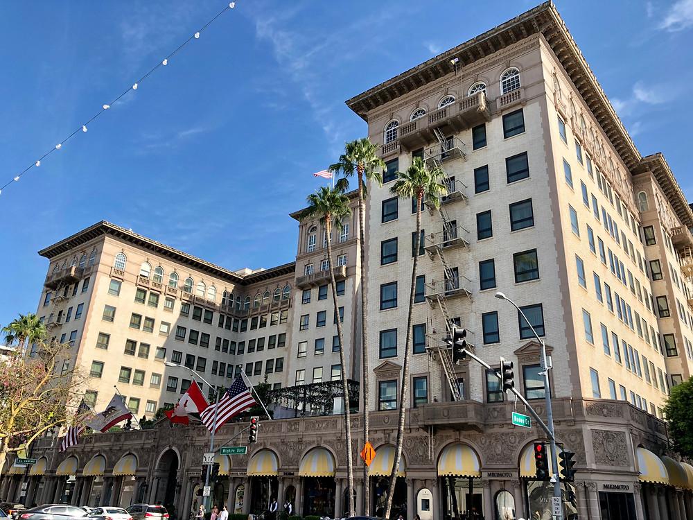 Beverly Wilshire Hotel en el barrio de Rodeo Drive