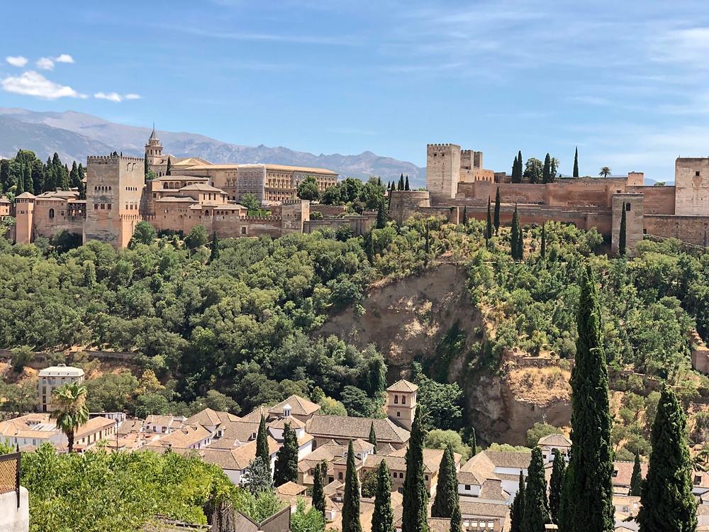 Vista panorámica Alhambra de Granada