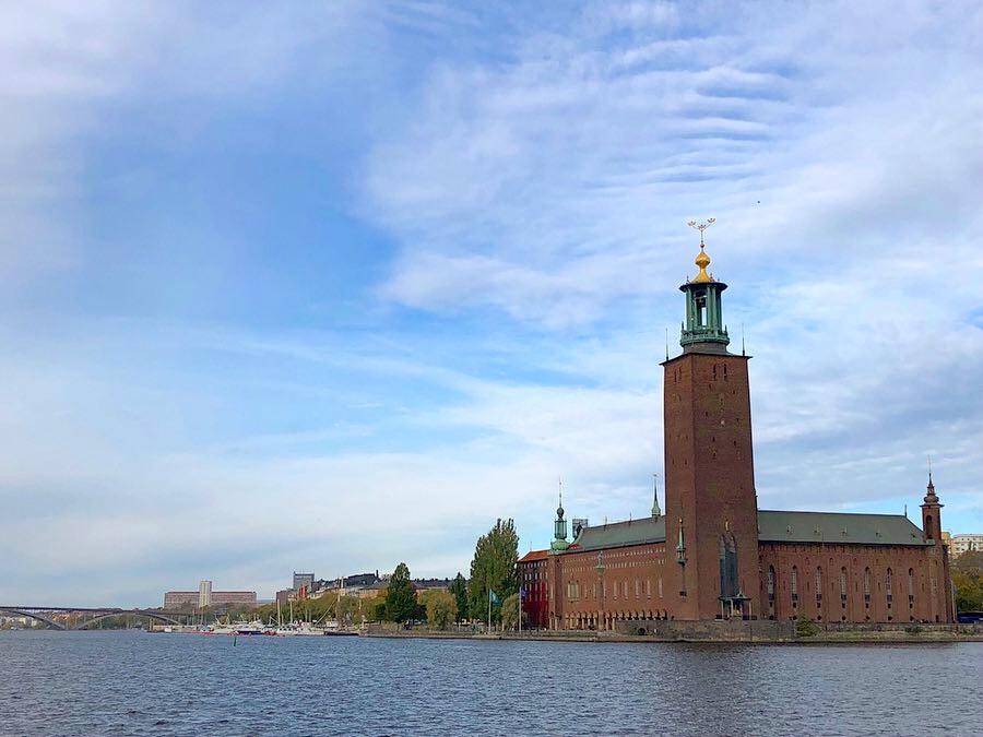 Edificio del Ayuntamiento de Estocolmo