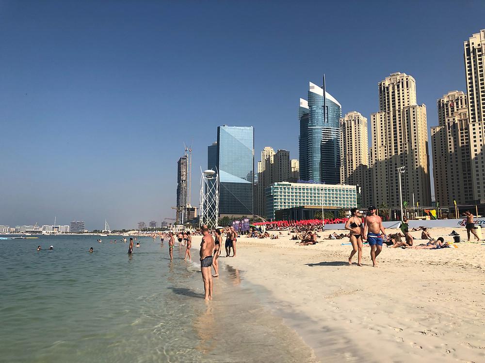 Playa de Dubai Marina