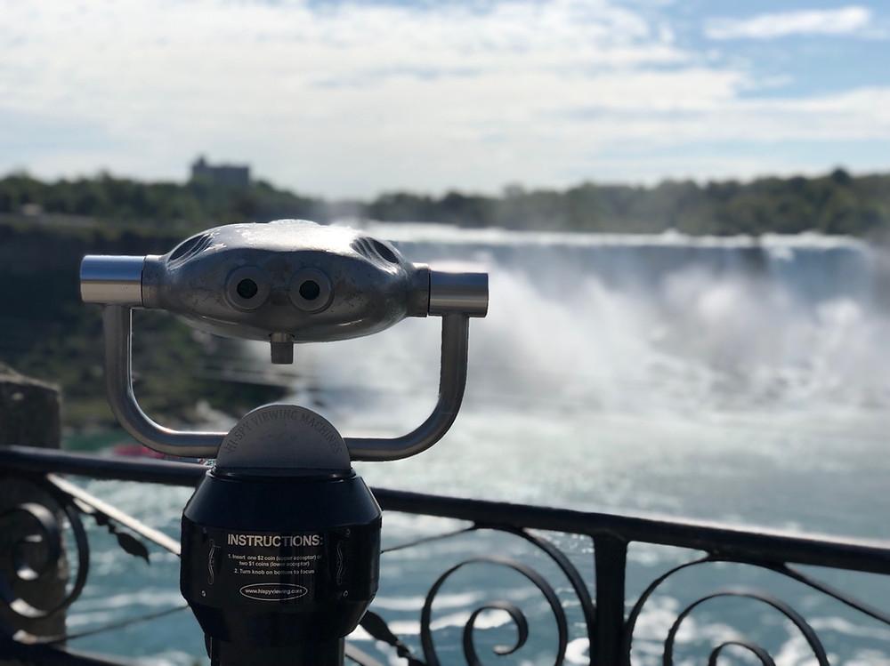 American Falls desde Canada