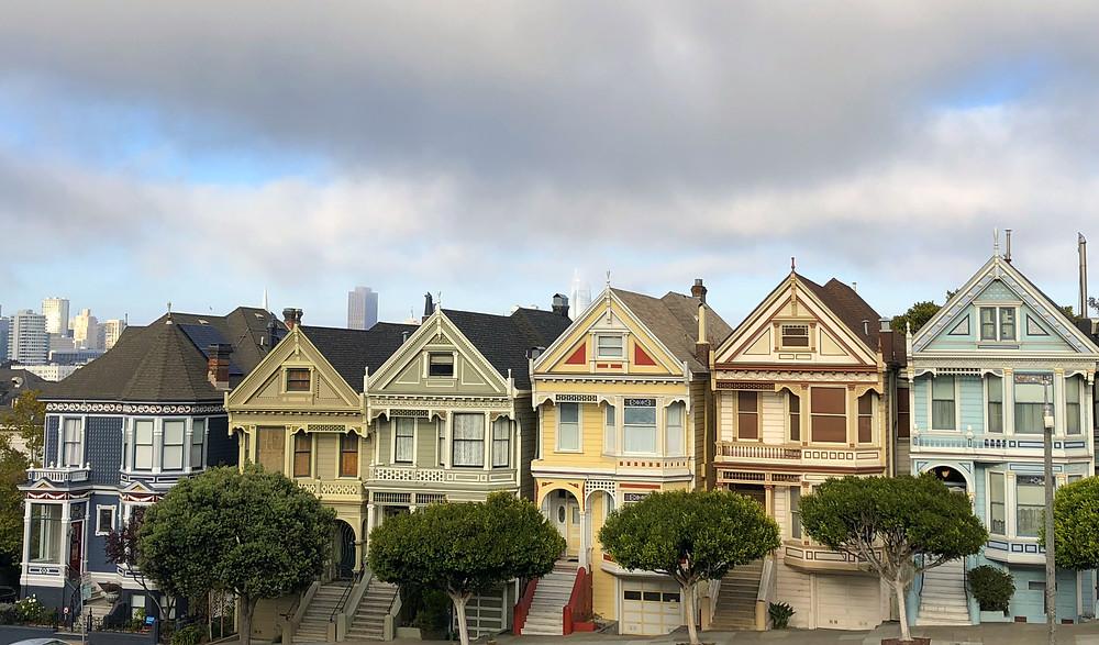 Las Damas Pintadas, uno de los símbolos de San Francisco