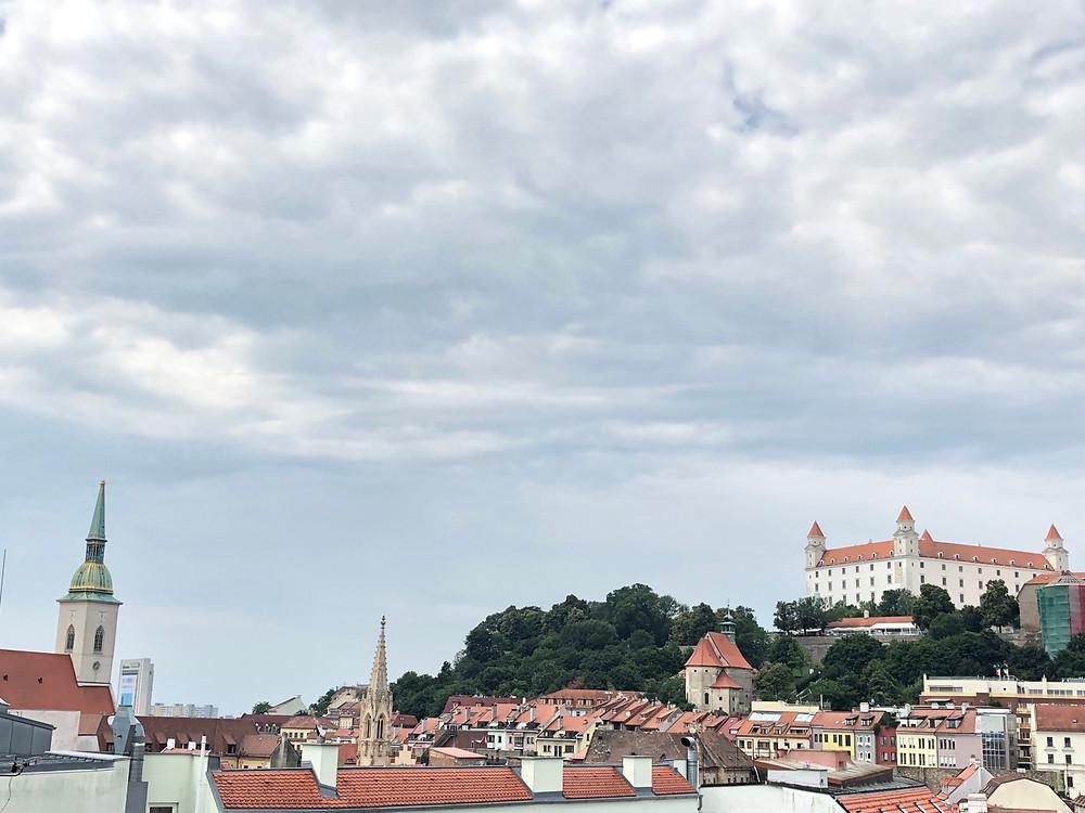 Panorámica centro historico Bratislava