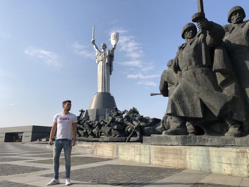 Motherland monument Kiev Ucrania
