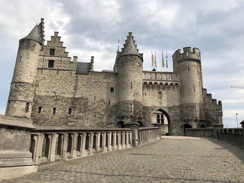 Castillo de Steen en Amberes