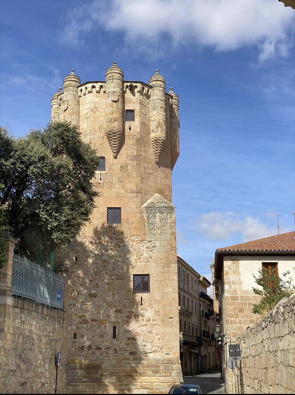 Torre del Clavero en Salamanca