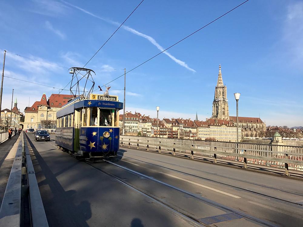 Tranvía en Berna