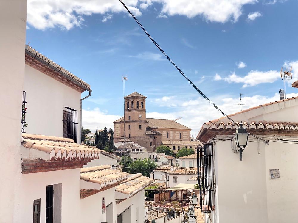 Casas blancas Albaicin