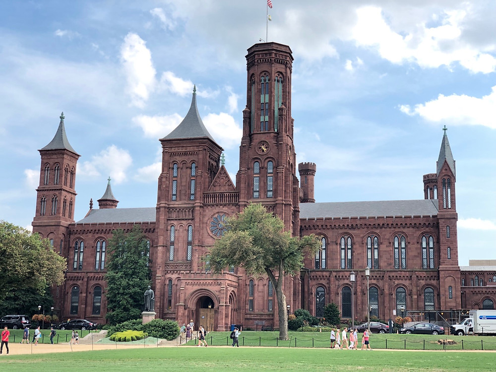 Smithsonian Castle Washington