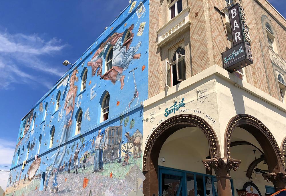 Arte callejero en el barrio de Venice de Los Ángeles