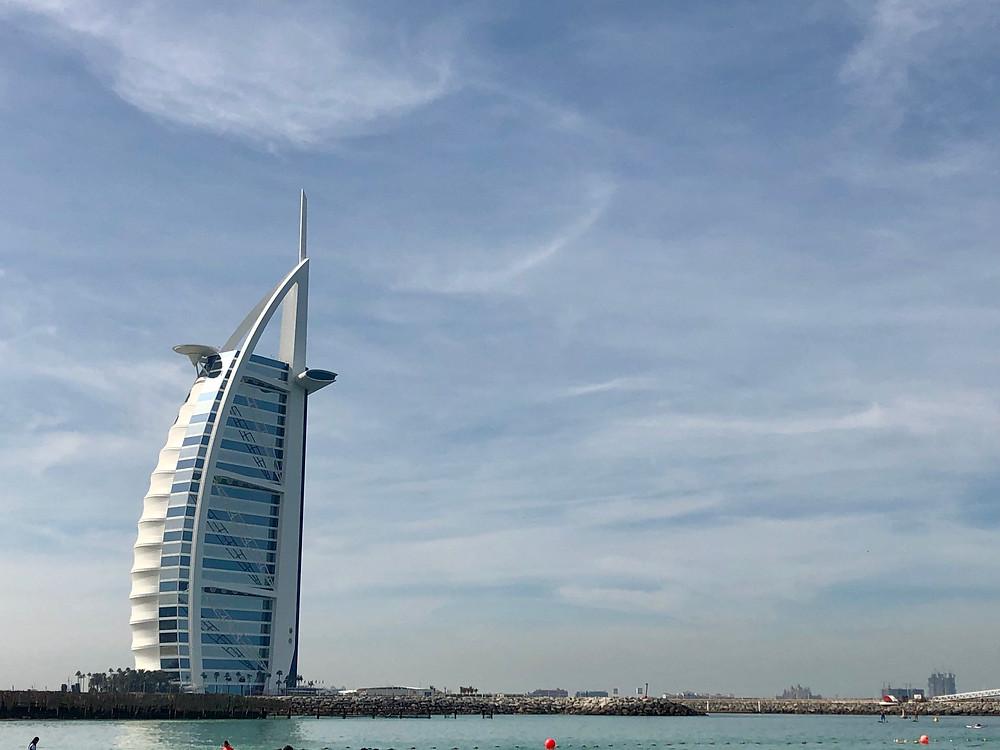Burj el Arab, el hotel de super lujo de Dubai