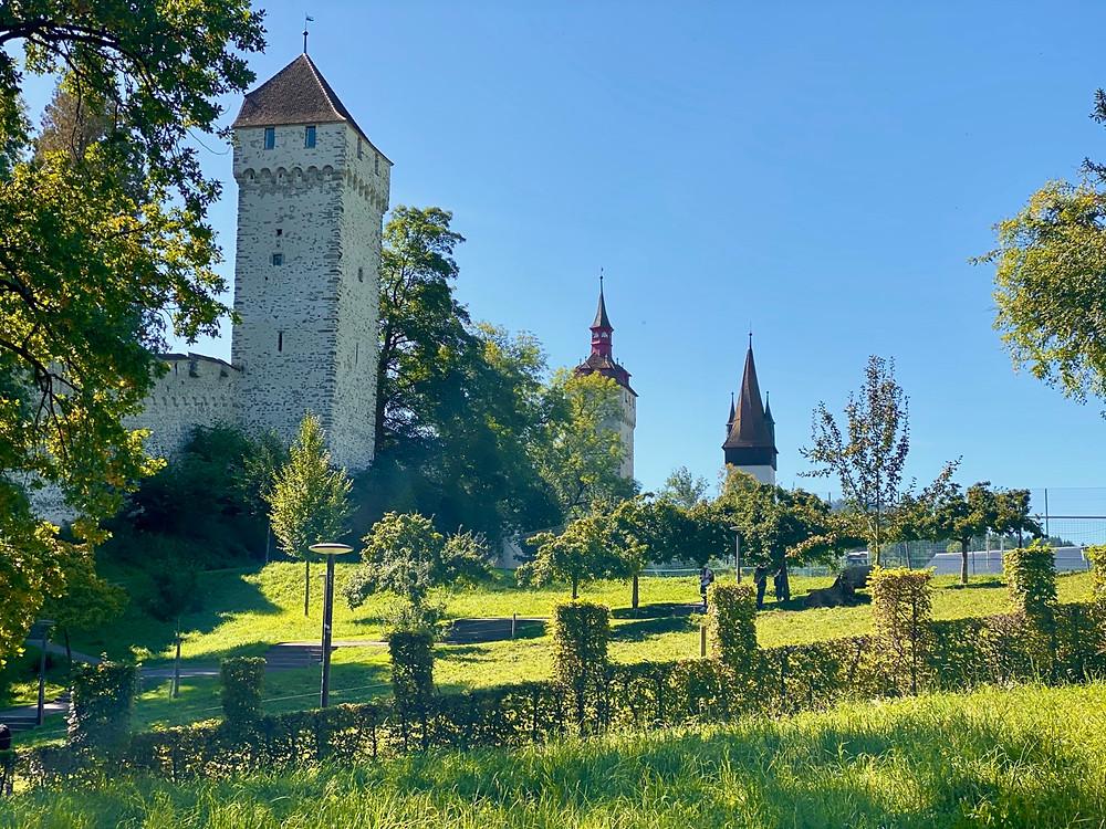 Torres muralla Lucerna