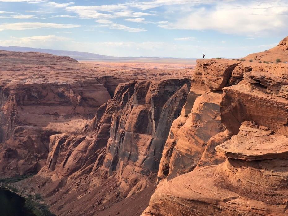 Formación rocosa como consecuencia de la erosión del rio Colorado