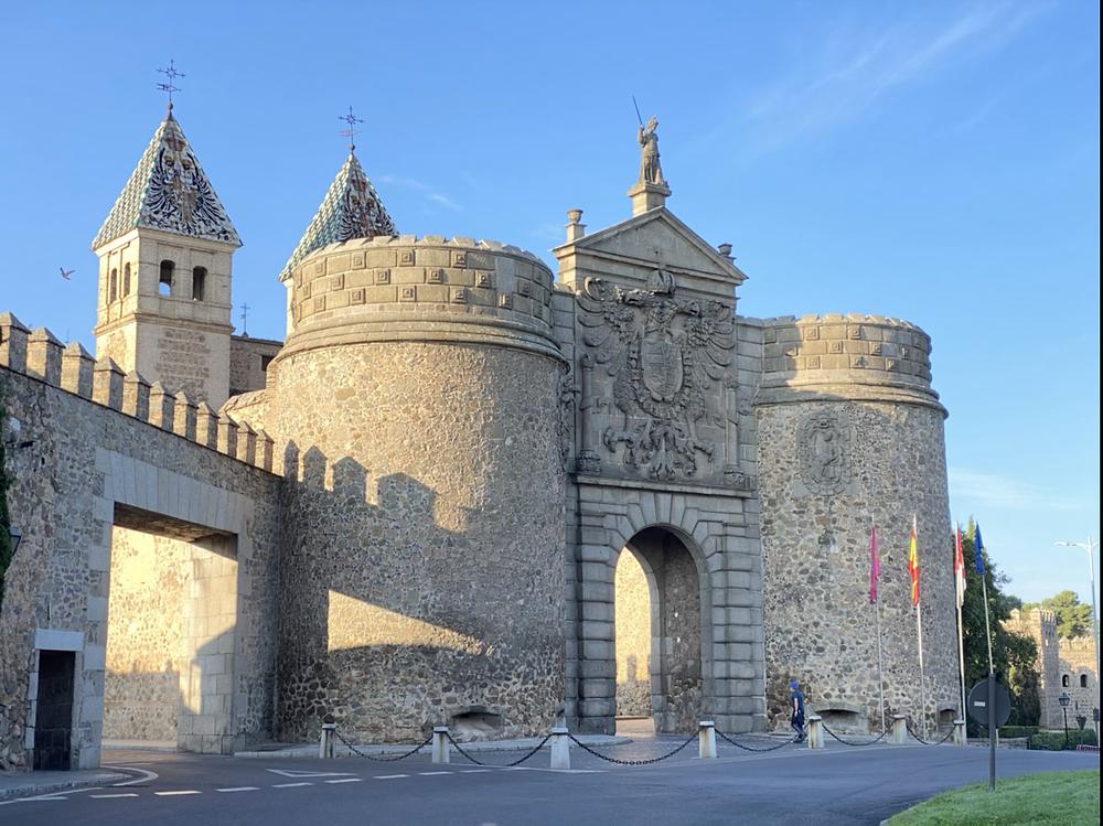 Puerta Nueva de Bisagra en Toledo